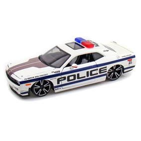 Dodge Challenger SRT8 Police car (2008) Viatura Policial da Maisto escala 1/24