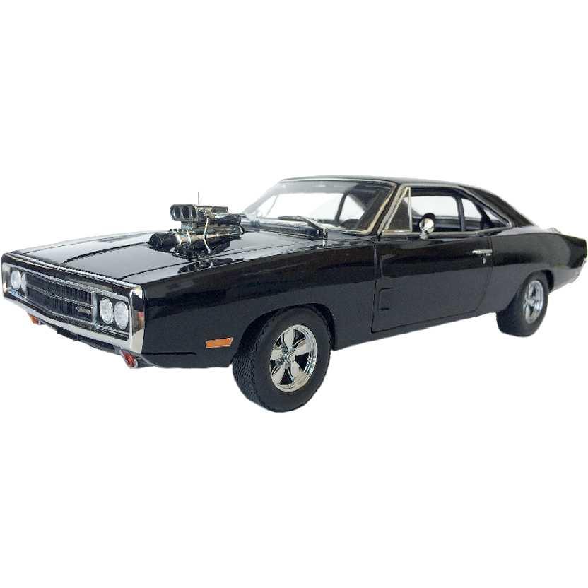 Dodge Charger (1970) Dominic Toretto Velozes e Furiosos Fast & Furious Greenlight escala 1/18
