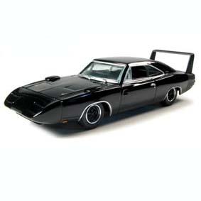 Dodge Charger Daytona (1969) Black Bandit Greenlight 1/64 R4 27640