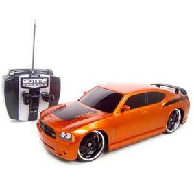Dodge Charger Daytona R/C controle remoto(também amarelo)