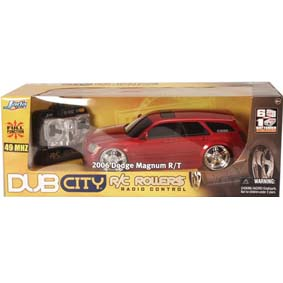 Dodge Magnum R/T R/C (2006) controle remoto(SOMENTE COR PRETA)