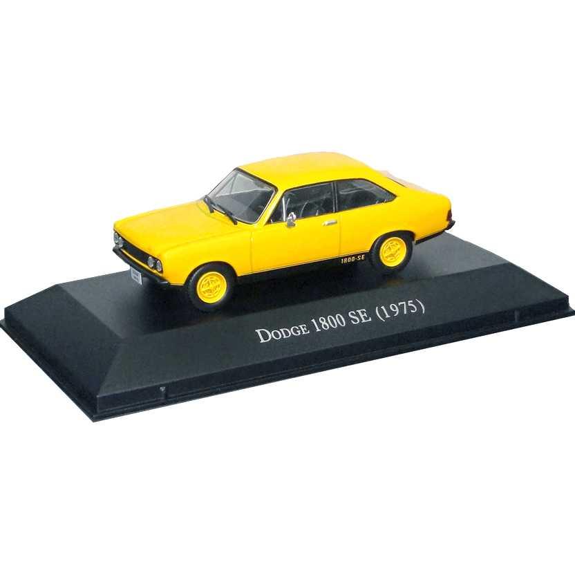 Dodge Polara 1800 SE 1975 Coleção Carros Inesquecíveis Do Brasil escala 1/43