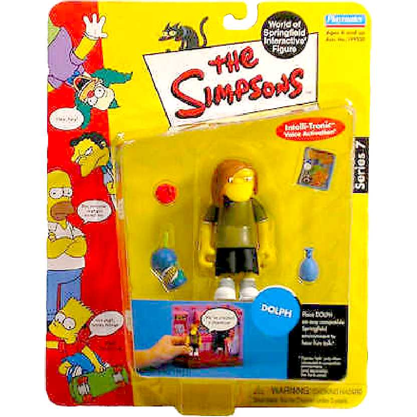 Dolph Action Figures Simpsons Action Figure Intelli-Tronic series 7