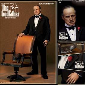 Don Vito Corleone - Godfather - O Poderoso Chefão com caneta
