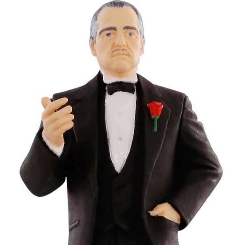 Don Vito Corleone (Marlon Brando) boneco com som - O Poderoso Chefão - The Godfather