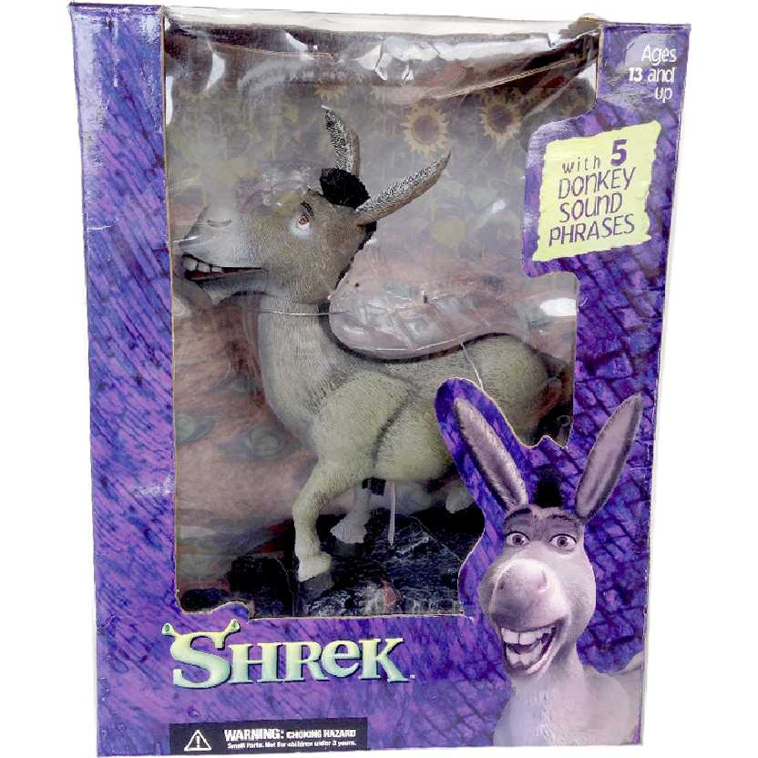 Donkey / Burro ( Shrek ) com som (5 frases do Eddie Murphy) McFarlane Toys
