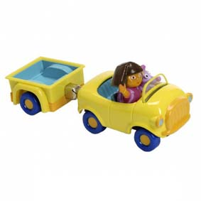 Dora Take Along Carro do Tico