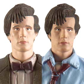 Doutor Who / Dr. Who / Doctor Who The Eleventh Doctors Crash Set Action Figures