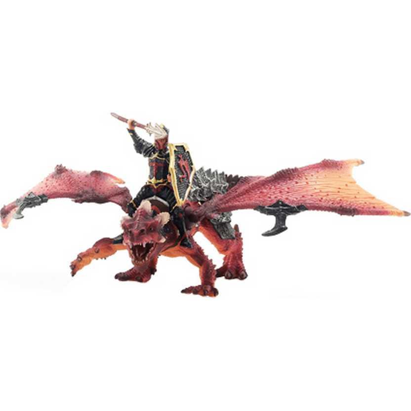 Dragão com articulação marca Schleich 70100 Dragon Rider Toy