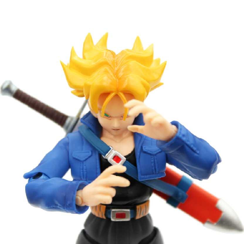Dragon Ball Z S.H. Figuarts Trunks Bandai Action Figure (Premium Color Edition)