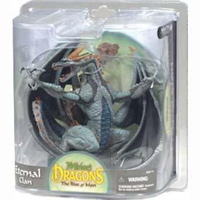 Dragon Mcfarlane series 8 :: Eternal Dragon Clan Miniaturas de dragões