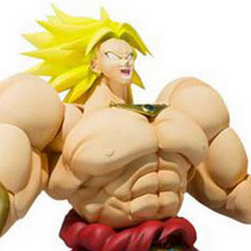Dragonball Z - Broly S.H.Figuarts Bandai Action Figures