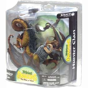 Dragons Mcfarlane series 8 Hunter Dragon Clan :: Mcfarlane Action Figures