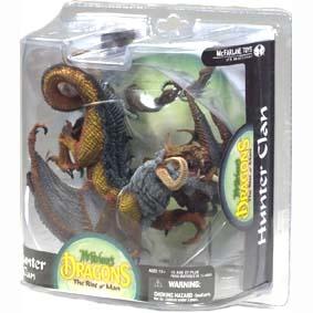 Dragons Mcfarlane series 8 Hunter Dragon Clan :: Mcfarlane Action Figures