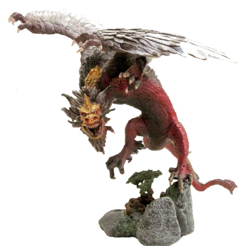 Dragons Mcfarlane Toys series 2 Fire Dragon Clan 2 Quest for The Lost King (Aberto)