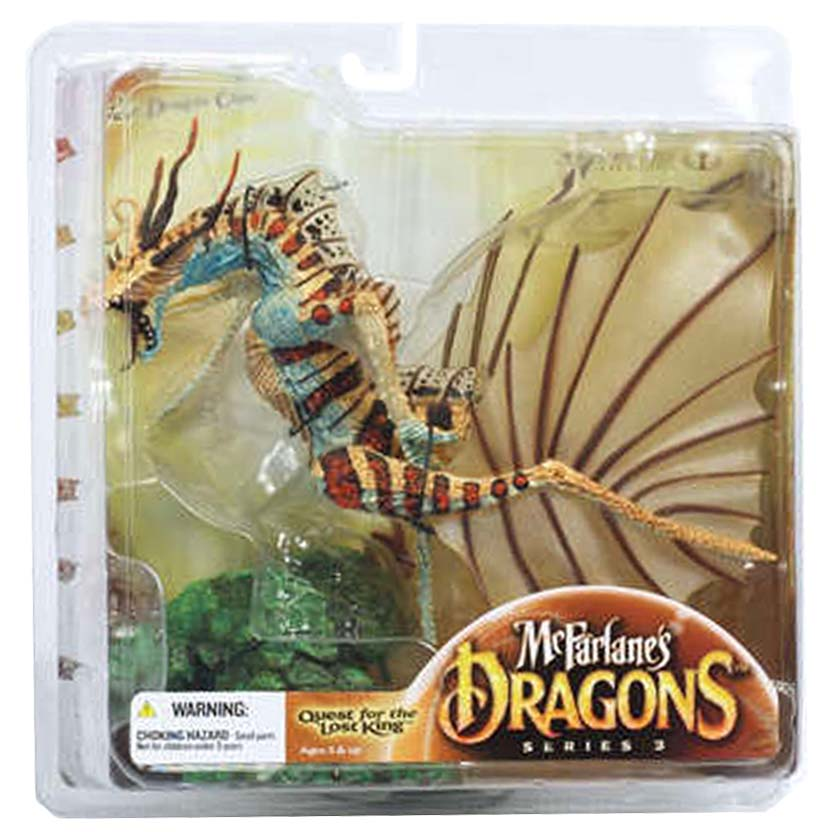 Dragons Mcfarlane Toys series 3 : Water Dragon Clan 3 Quest for The Lost King
