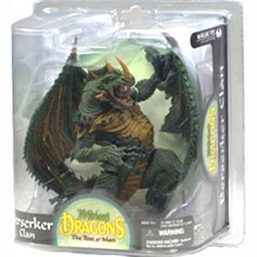 Dragons series 8 :: Berserker Dragon Clan Mcfarlane Toys Brasil