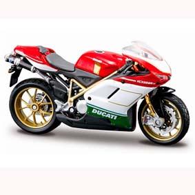 Ducati 1098S moto da maisto escala 1/18