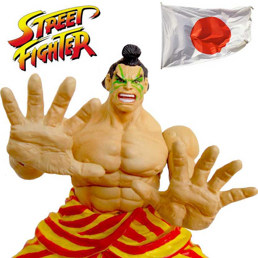 E. Honda - Street Fighter Revolution Edmond Honda : Sota Toys Action Figures (aberto)
