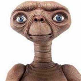 E.T. The Extra-Terrestrial Night flight E.T. O Extraterrestre NECA