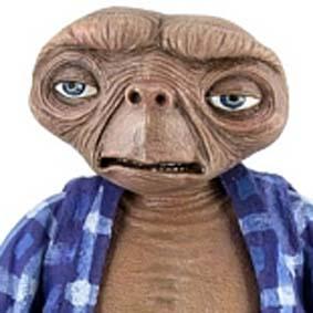 E.T. The Extra-Terrestrial Telepathic E.T. O Extraterrestre NECA