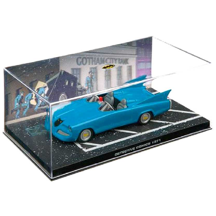 Eaglemoss DC Batman Batmobile Automobilia #19 Detective Comics #371 c/ caixa de acrílico