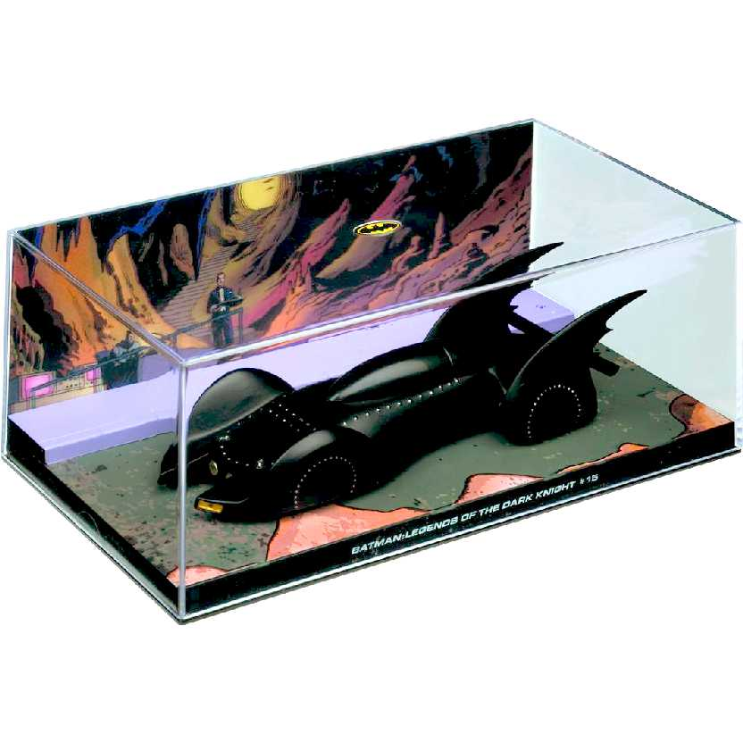 Eaglemoss DC Batman Batmobile Automobilia #25 Batman: Legends of The Dark Knight #15