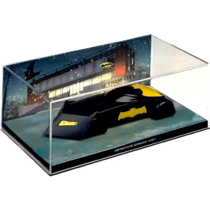 Eaglemoss DC Batman Batmobile Automobilia #31 Detective Comics #591 c/ caixa de acrílico