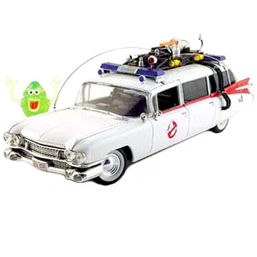 Ecto-1 (Ghostbuster) Cadillac com Geléia marca ERTL escala 1/18 RARIDADE