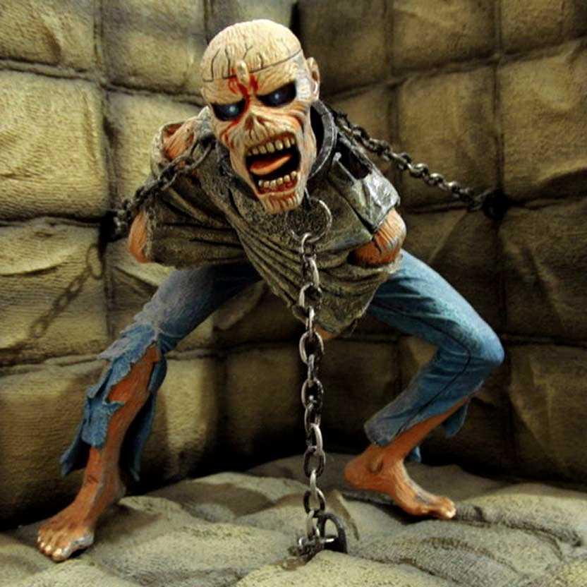 Eddie Piece of Mind ( Iron Maiden ) Neca action figure diorama original ABERTO/LOOSE