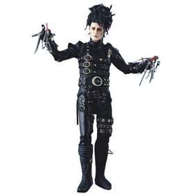 Edward Mãos de Tesoura (Johnny Depp)