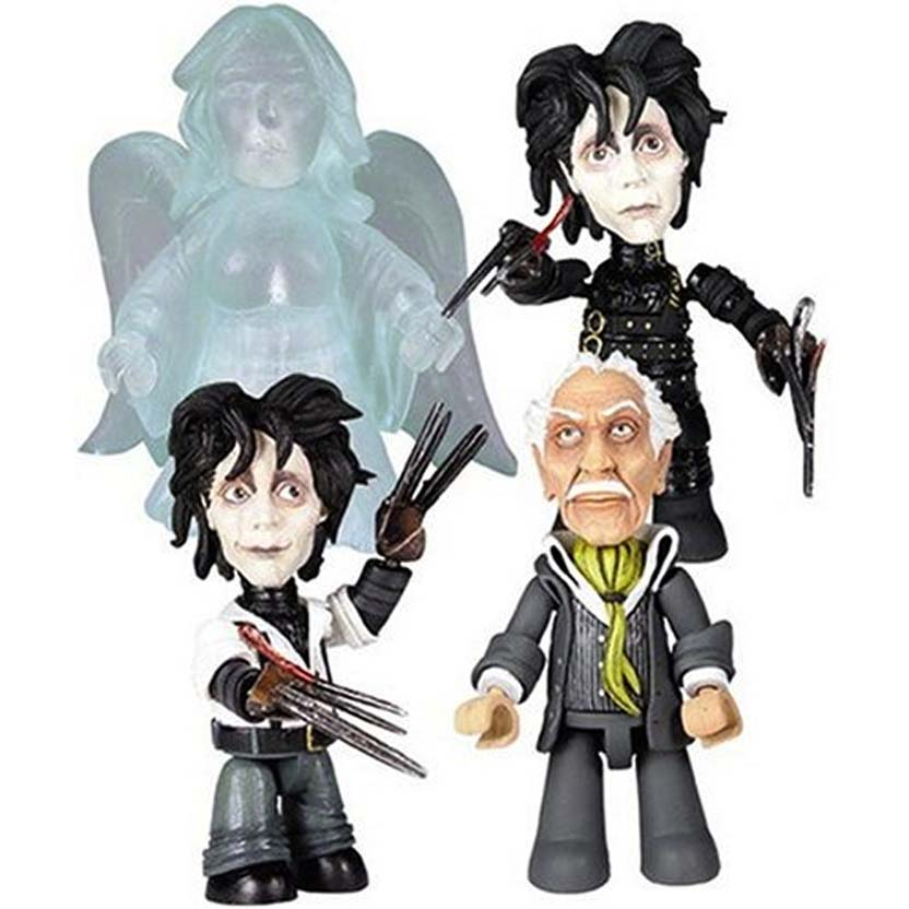 Edward Scissorhands Mez-Itz : conjunto Edward Mãos de Tesoura ( Johnny Deep )