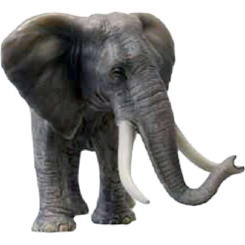 Elefante Africano macho 14656 Schleich African Elephant Male