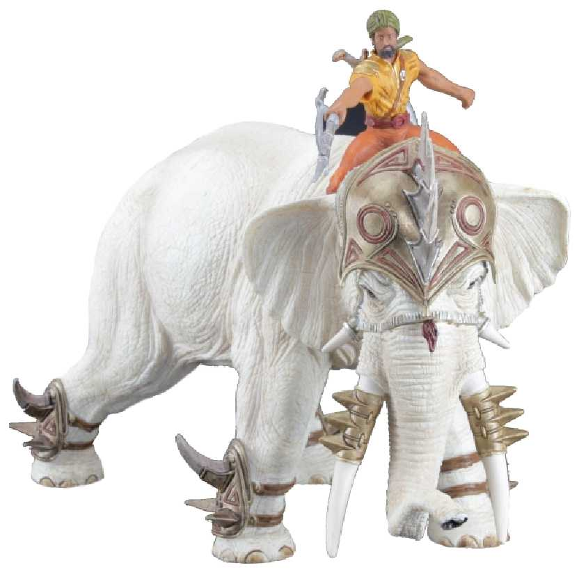 Elefante de Guerra com lutador Schleich 70063 Mighty Fighter Elephant with Rider