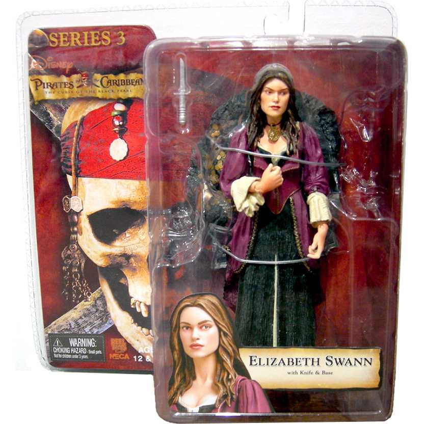 Elizabeth Swann Pirates of the Caribbean Series 3 marca Neca action Figures