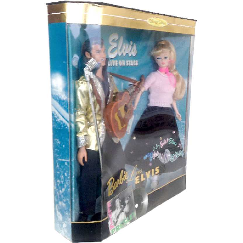 Elvis e Barbie Mattel Barbie Loves Elvis Presley (Live on Stage) Collector Edition