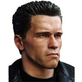 Enterbay Bonecos Escala 1/4 The Terminator 2 T-800 HD Masterpiece (Arnold Schwarzenegger)