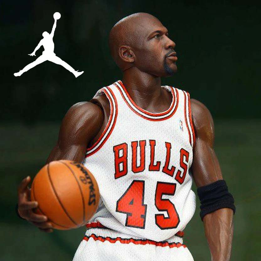 Enterbay Michael Jordan #45 NBA Chicago Bulls Limited Edition escala 1/6 action figure