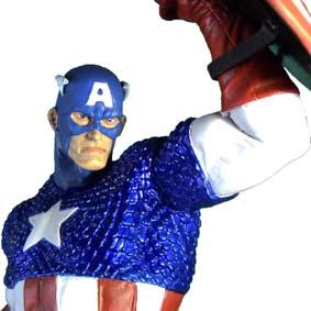 Estátua do Capitão América (Avengers) Captain America statue