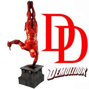 Estátua do Demolidor em resina :: Boneco do Daredevil Marvel Comics
