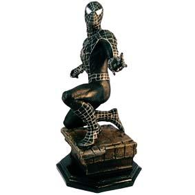 Estátua do Homem Aranha Preto :: Spiderman Statue
