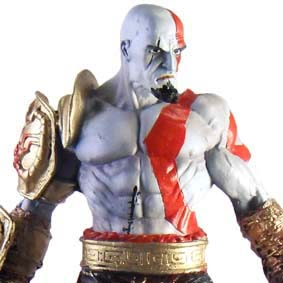 Estátua do Kratos - God of War III