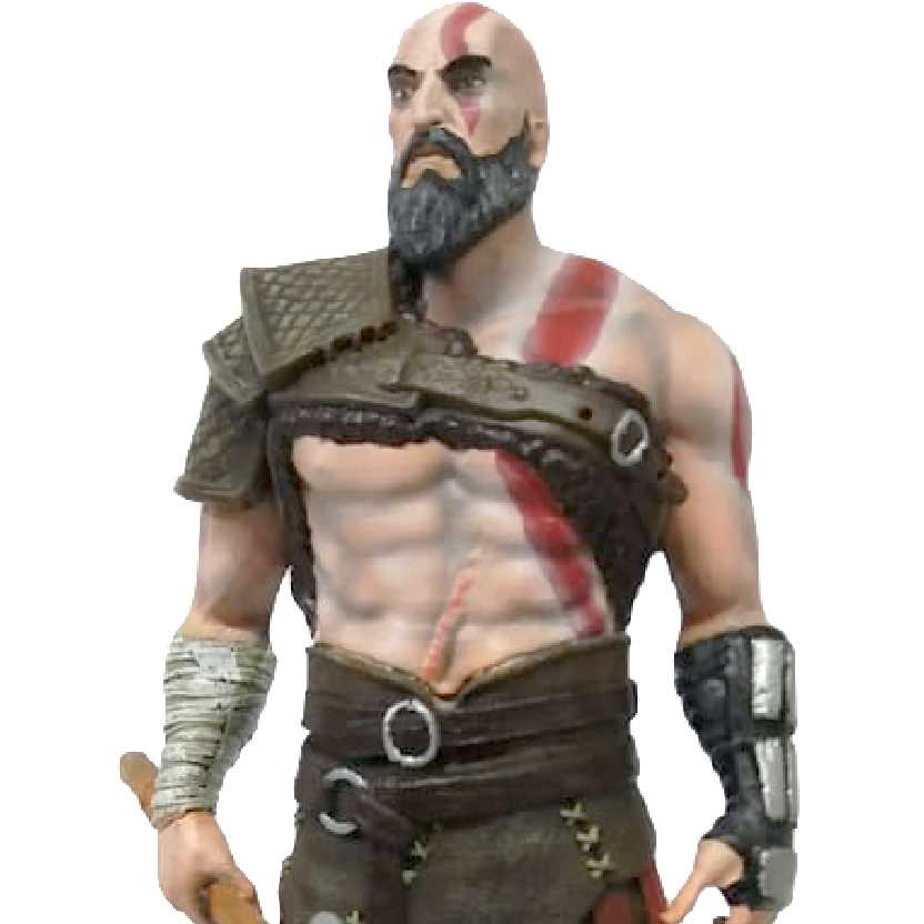 Estátua God of War 4 Kratos com machado