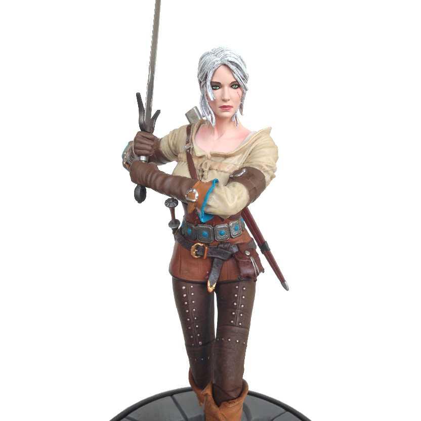 Estátua The Witcher 3 The Wild Hunt Cirilla Fiona Elen Riannon Dark Horse Deluxe statue