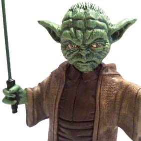 Estatueta do Yoda (Star Wars) Guerra nas Estrelas