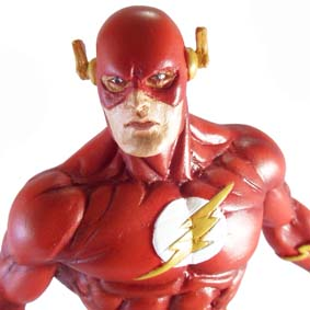 Estatueta Liga da Justiça The Flash LJA