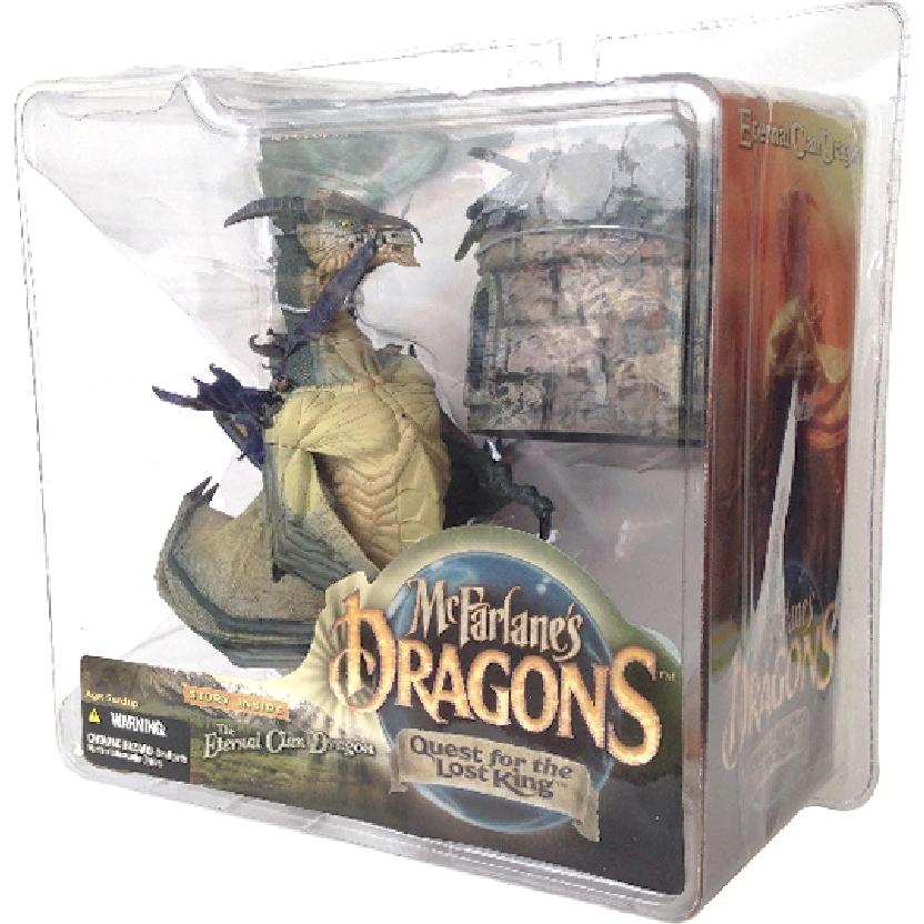 Eternal Clan Dragon Mcfarlane Toys Dragons series 1 Quest for The Lost King