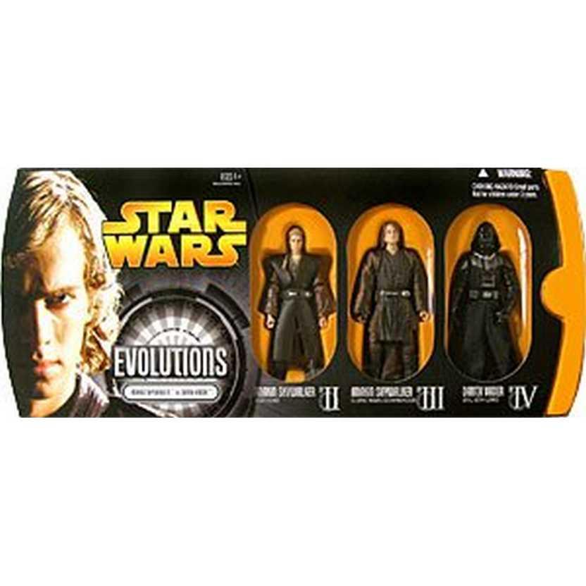 Evolution Anakin to Darth Vader - Evolutions Anakin Skywalker to Darth Vader