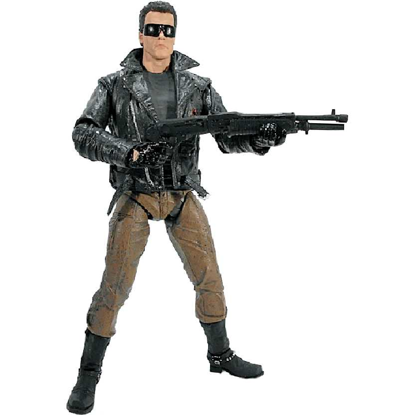 Exterminador do Futuro Ultimate T-800 Police Station Assault (Arnold Schwarzenegger) Neca
