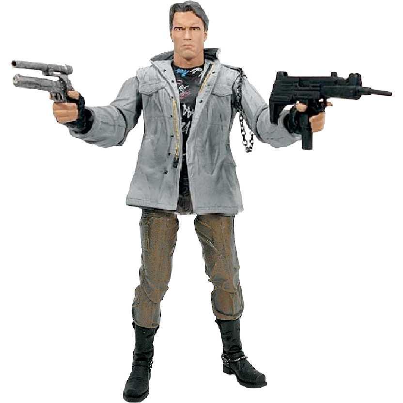 Exterminador do Futuro Ultimate T-800 Tech Noir (Arnold Schwarzenegger) Neca bonecos